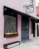 Historic New Orleans French Quarter Wedding Chapel. SEPTEMBER 2016: NEW ORLEANS -Historic architecture in New Orleans, French Quarter. Wedding Chapel Stock Photography