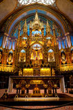Historic Notre Dame in old Montreal of Canada Royalty Free Stock Image