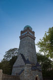 Historic observatory in the early evening before blue sky Royalty Free Stock Photography