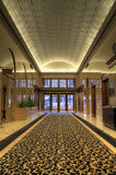 Historic Office Building Lobby. In Downtown Portland Oregon Stock Photo
