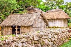 Historic Okinawan Village Royalty Free Stock Photo