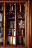 Historic old books in library Royalty Free Stock Photography