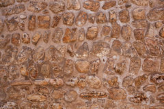 Historic Old Brown Wall Royalty Free Stock Photos