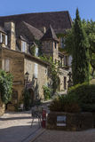 Historic old Buildings - Sarlat - France Stock Image