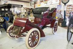 Historic old cadillac. This is a very old historic cadillac.  museum quality Royalty Free Stock Photo