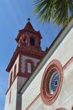 Historic Old Church  FlSa. Historic Old Presbyterian Church in St' Augustine, Florida Royalty Free Stock Photos