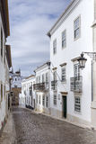 Historic, old district in Faro, Algarve Stock Photos