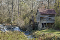 Historic Old Grist Mill - Georgia stock photos