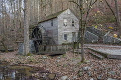 Historic Old Grist Mill - Tennessee. Historic 1798 Grist Mill in Autumn - Norris Dam State Park, Tennessee Royalty Free Stock Photo
