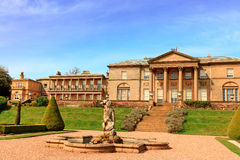 Historic old hall mansion in Cheshire, UK. Royalty Free Stock Photo