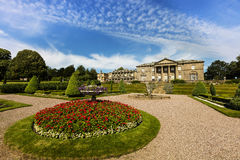 Historic old hall mansion in Cheshire, UK. Historic old Tatton Hall mansion in Cheshire, UK stock photography