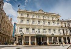 Hotel Inglaterra - Havana, Cuba royalty free stock image
