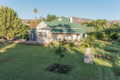 Historic old house in Calitzdorp Royalty Free Stock Photography