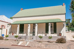 Historic old house in Colesberg, South Africa Royalty Free Stock Photos