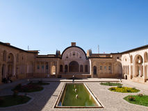 Historic old house in Kashan, Iran Royalty Free Stock Photo