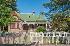Historic old house in Oudtshoorn Stock Photo