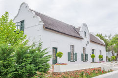 Historic old house in Swellendam Royalty Free Stock Image