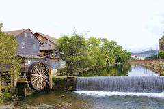 Historic Old Mill Pigeon Forge Tennessee Stock Image