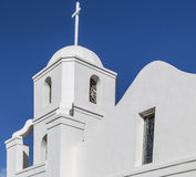 Historic Old Mission in Downtown Scottsdale Royalty Free Stock Photography