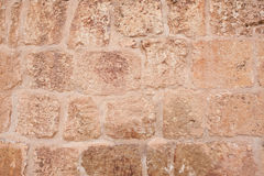 Historic Old Ribbet Stone Wall Royalty Free Stock Images