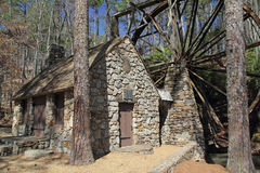 Historic Old rist Mill - Georgia Stock Photo