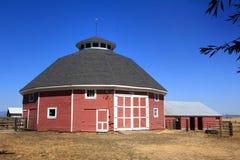 Historic Old Round Farm Barn Stock Photography