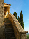 Historic old stairs. Historic stairs in the Provence Stock Image