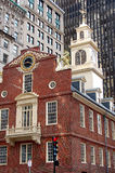 Historic Old State House Building Royalty Free Stock Photography