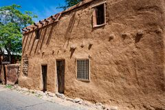 Free Historic, Old Style Architecture Of Buildings In Sante Fe Royalty Free Stock Photos - 212192708
