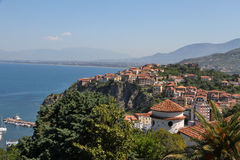 Historic Old Town of Agropoli, Italy Stock Photos