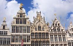 historic old town of Antwerp Stock Photo
