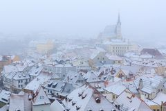 Historic old town in Cesky Krumlov, Czech republic Royalty Free Stock Photo