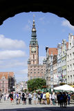 Historic Old Town of Gdansk in Poland Royalty Free Stock Photo