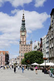 Historic Old Town of Gdansk in Poland Stock Images