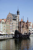 Historic Old Town of Gdansk in Poland Royalty Free Stock Images