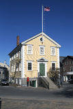 Historic Old Town Hall House, constructed 1727, Marblehead, Massachusetts, USA Stock Photos