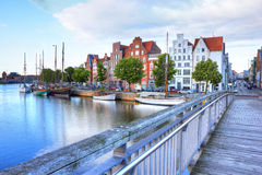 Historic old town luebeck Royalty Free Stock Photography