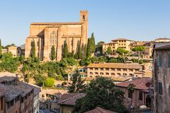 Historic old town of Siena, Italy Stock Image