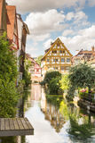 Historic old town of Ulm Stock Photo