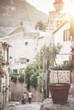 Historic old town of Valldemossa on the island of Majorca Stock Photography