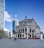 The historic opera house of Frankfurt  (Germany). Stock Photo