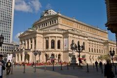 The historic opera house of Frankfurt  (Germany). Stock Image