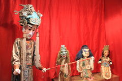 Historic oriental puppets Stock Photography