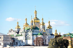 Historic Orthodox Christian monastery Royalty Free Stock Photo