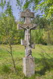 Historic Orthodox  cross Royalty Free Stock Image