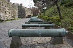 Historic ottoman cannon Royalty Free Stock Photos