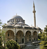 Historic ottoman era mosque in istanbul Stock Photo