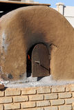 Historic Outdoor Clay Oven Stock Photo