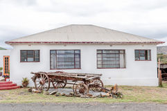 Historic ox-wagon in Wolwefontein Stock Images