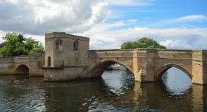 The Historic Pacrkhorse Bridge at St Ives Cambridgeshire Royalty Free Stock Photos
